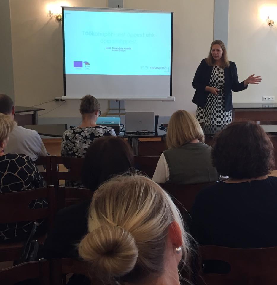Eesti Tööandjate Keskliidu haridusnõunik Anneli Entson: üha enam tööandjaid on valmis olema praktikabaasiks