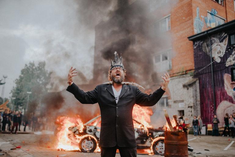 "UUS NÄITUS I Anonymous Boh esitles TYPA galeriis näitust ""Mental Turbulence"""