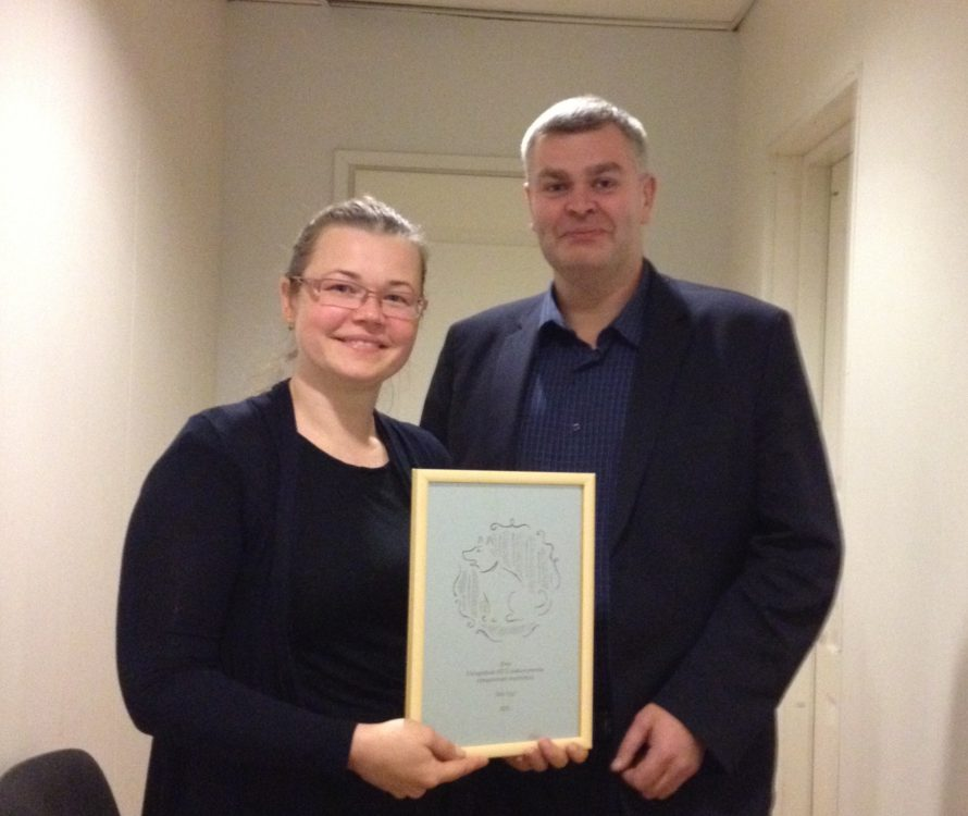 Varjupaikade MTÜ andis täna preemia Tallinna Keskkonnaameti juhataja Relo Ligile