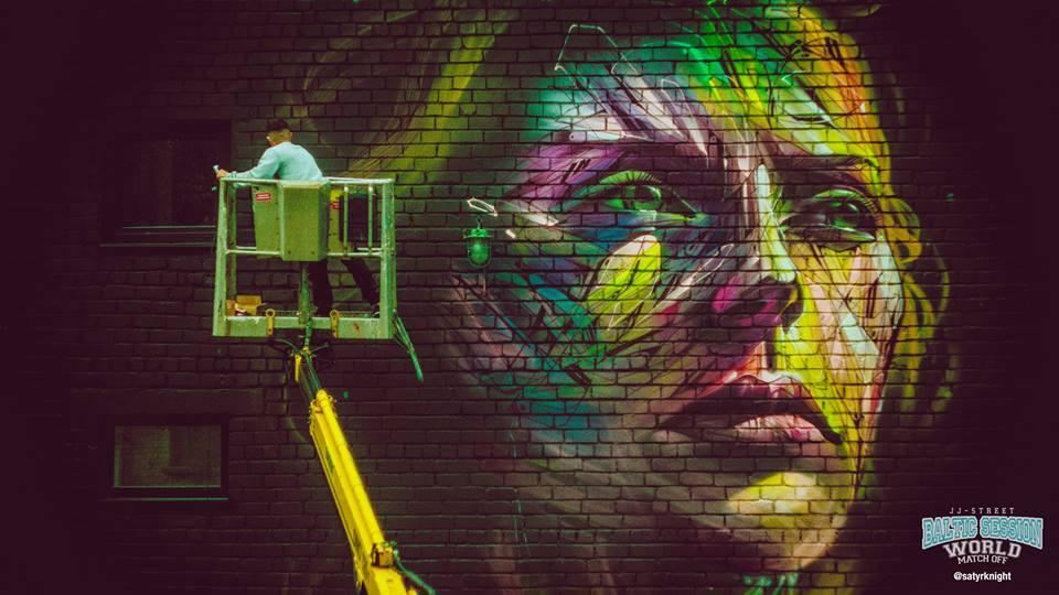 Fotod! Vaata, kus asuvad Street Art Jam'i 12 imeilusat graffitiseina