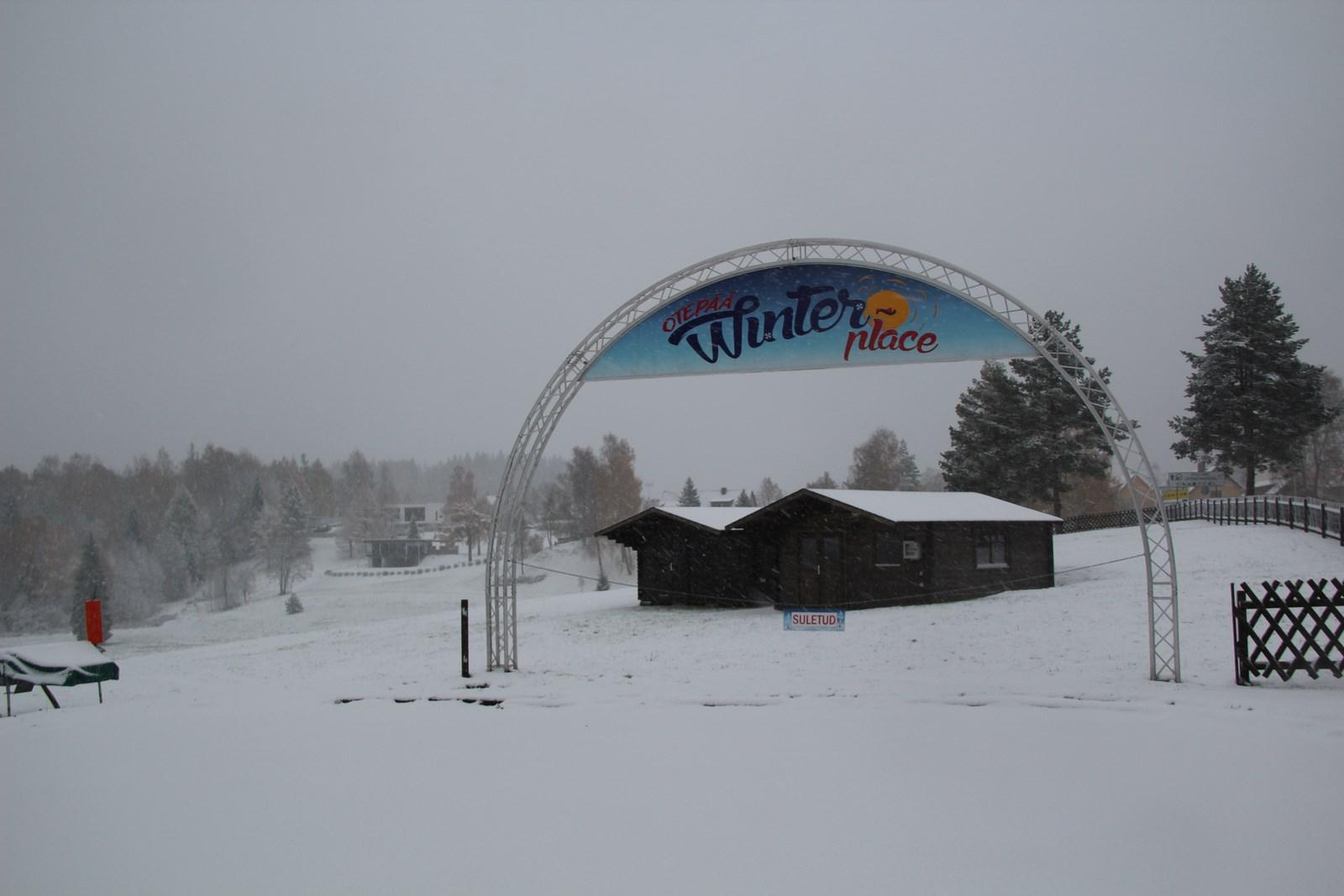 ESIMENE LUMI! Talvepealinn tervitab esimest lund