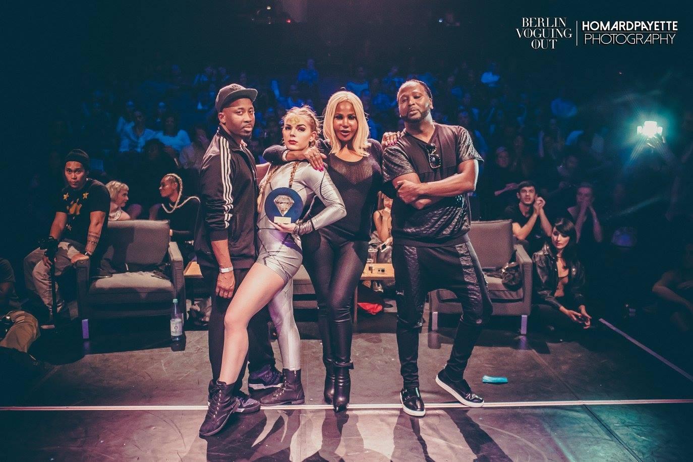 """JJ-Street tantsukooli vogue-tüdruk Jessica Lainde tõi """"Berlin Voguing Out"""" festivalilt võidu"""