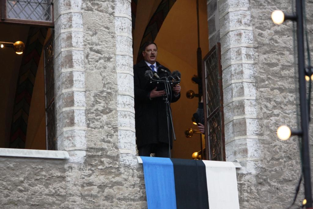 Tallinna tegevlinnapea Taavi Aas kuulutas välja jõulurahu