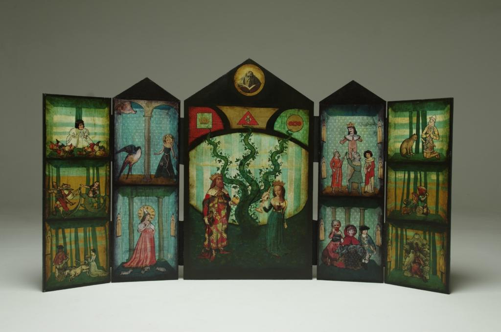 Voronja galerii X korternäitusel saab näha Maria Evestuse muinasjutulisi teoseid