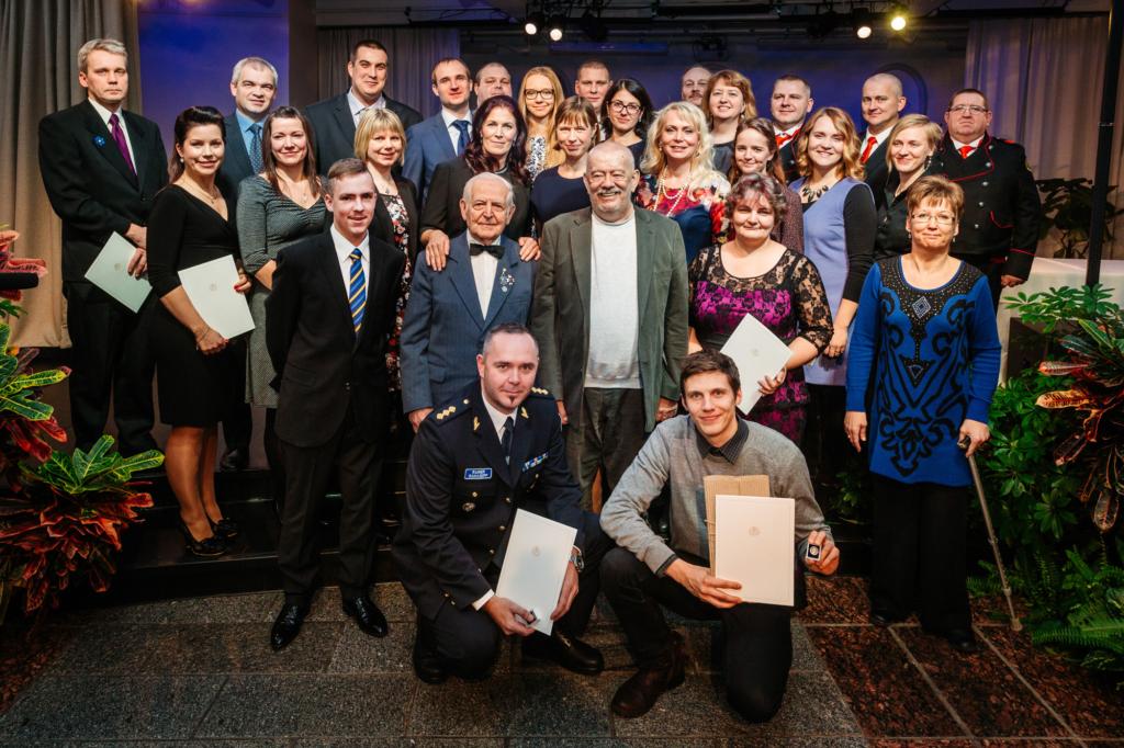 President Kaljulaid tunnustas tänavusi vabatahtlikke