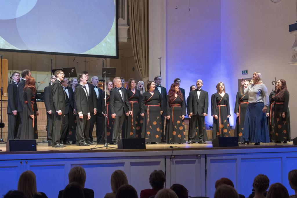 Lisatud kõik laureaadid! Aasta kooriks 2016 nimetati Tartu ülikooli kammerkoor