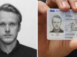 ID-kaardi fotomodell