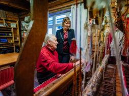 Kersti Kaljulaid Paide Wabalinna-majas