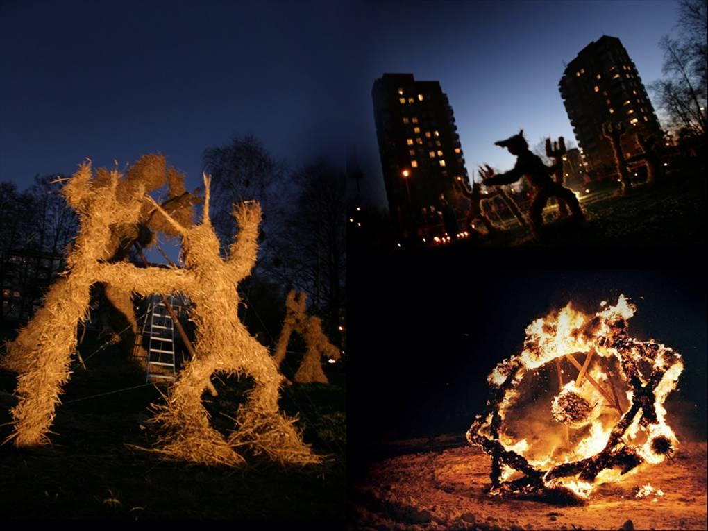 Süttivad tuleskulptuurid ja kuuselõkked! Tallinnas toimub taas kuuskede kogumise aktsioon