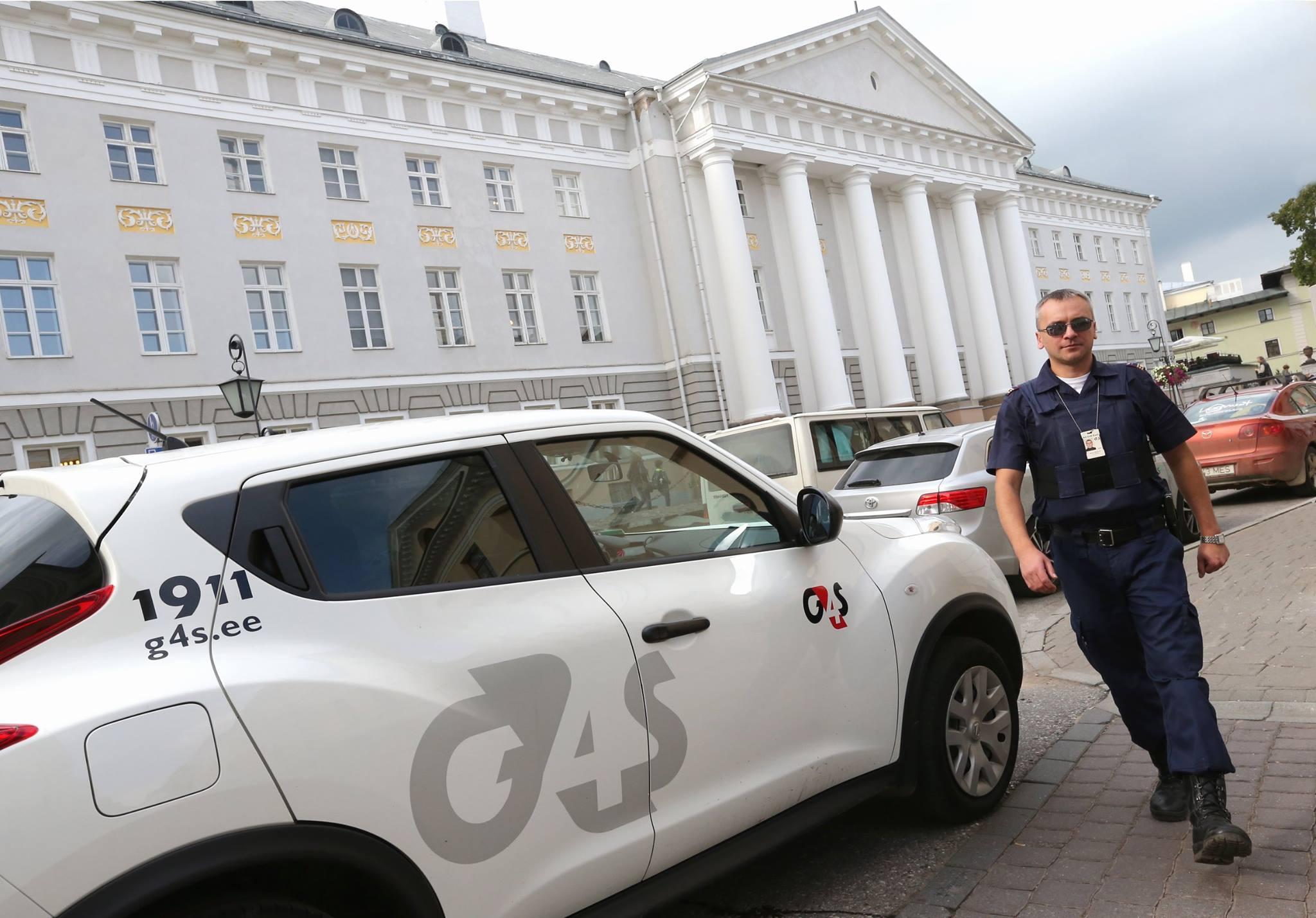 G4S I Turvatöötajad takistasid kahe roolijoodiku edasisõitu