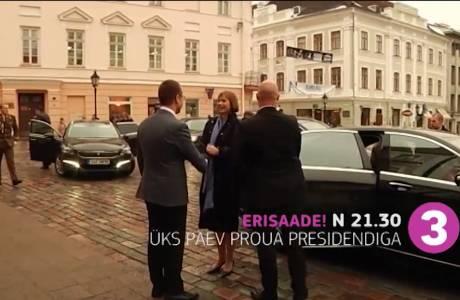 Üks päev proua presidendiga! Täna näeme president Kaljulaidi täit tööpäeva teleekraanil
