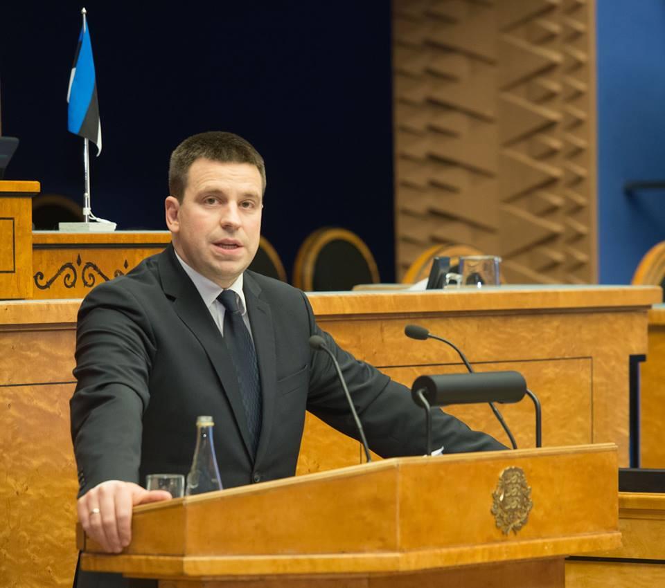 Jüri Ratas tõusnud reitingutest: inimeste kõrge usaldus on suur vastutus Eesti ees
