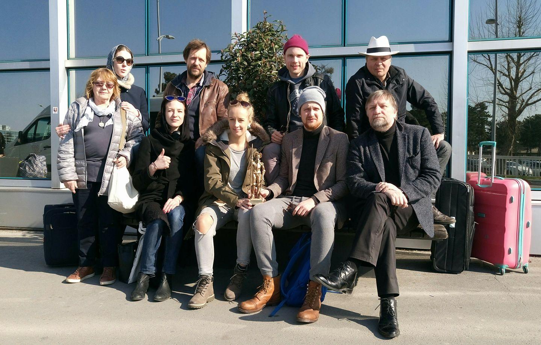 """R.A.A.A.M. võitis oma etendusega """"Libahunt"""" Belgradi teatrifestivali peaauhinna"""