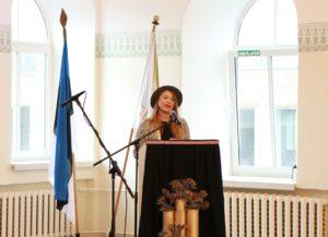 Rahvaauhinna laureaat Keiti Vilms