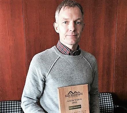 Palju õnne! Raiko Gustavson pärjati puitmajasektori Aasta Tegija tiitliga