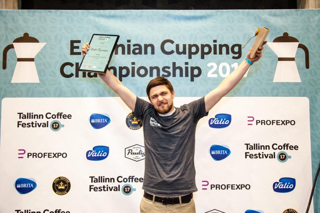 Palju õnne! Eesti kohvimaitsmise meister on The Brick Coffee Roastery juhina töötav Henry Politanov