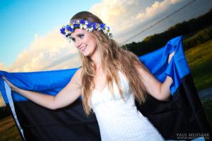 Eesti lipuga