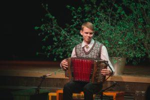 Peauhinna võitja Karksi-Nuia Muusikakooli õpilane Rasmus Kadaja Foto: Ako Lehemets