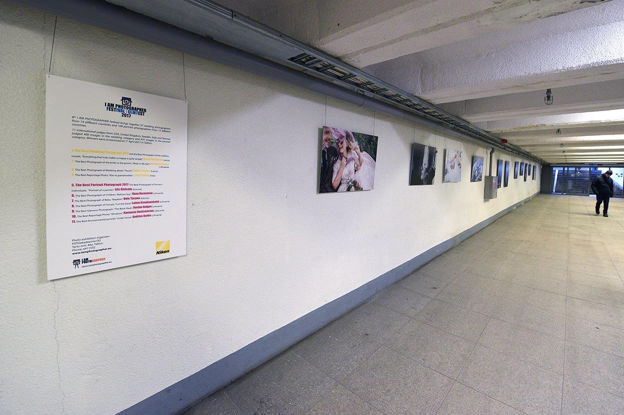 """Vabaduse väljaku tunnelis näeb näitust """"Pulma ja portreefoto"""""""