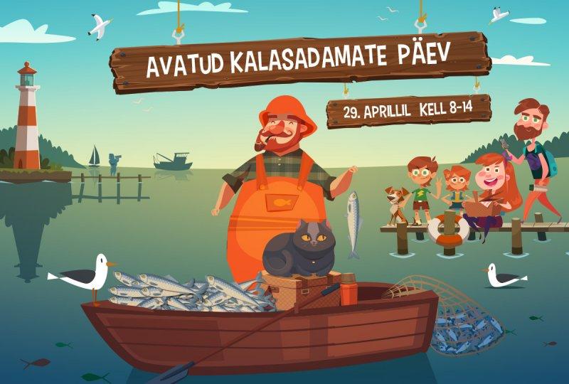 Täna toimub üle-eestiline avatud kalasadamate päev