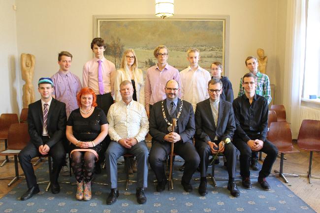 Palju õnne! Viljandi Linnavalitsuses tunnustati parimaid noori matemaatikuid