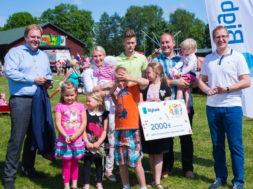 Aasta Suurpere 2016 konkursi võitja, seitsmelapseline perekond Aan Tartumaalt