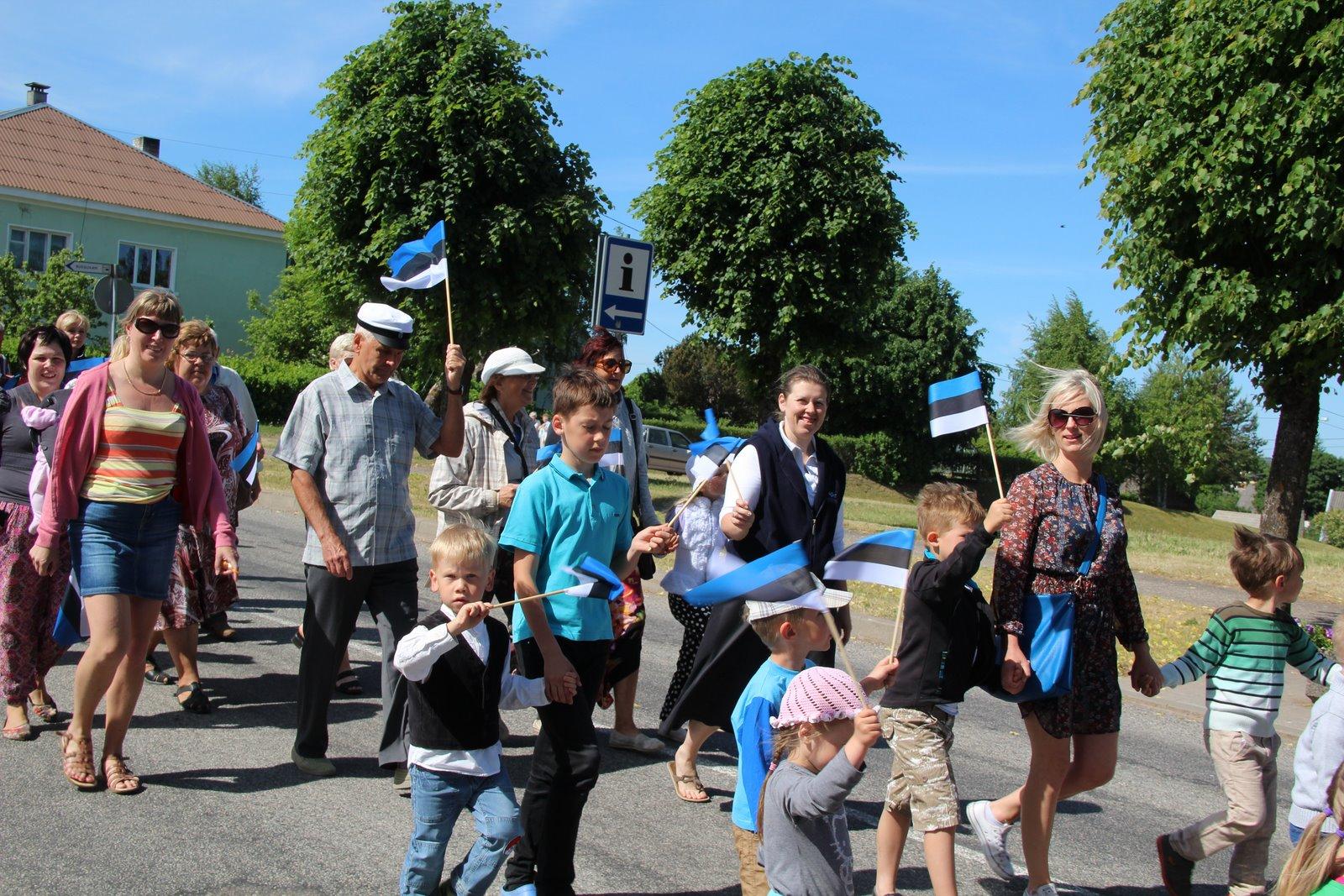 Otepää tähistab Eesti lipu sünnipäeva