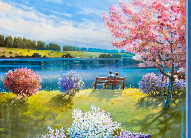 Maalikunsti huvilisi oodatakse Köismäe tornis lillenäitusele