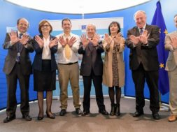 European Natura 2000 Day Proclamation in the presence of Karmenu Vella