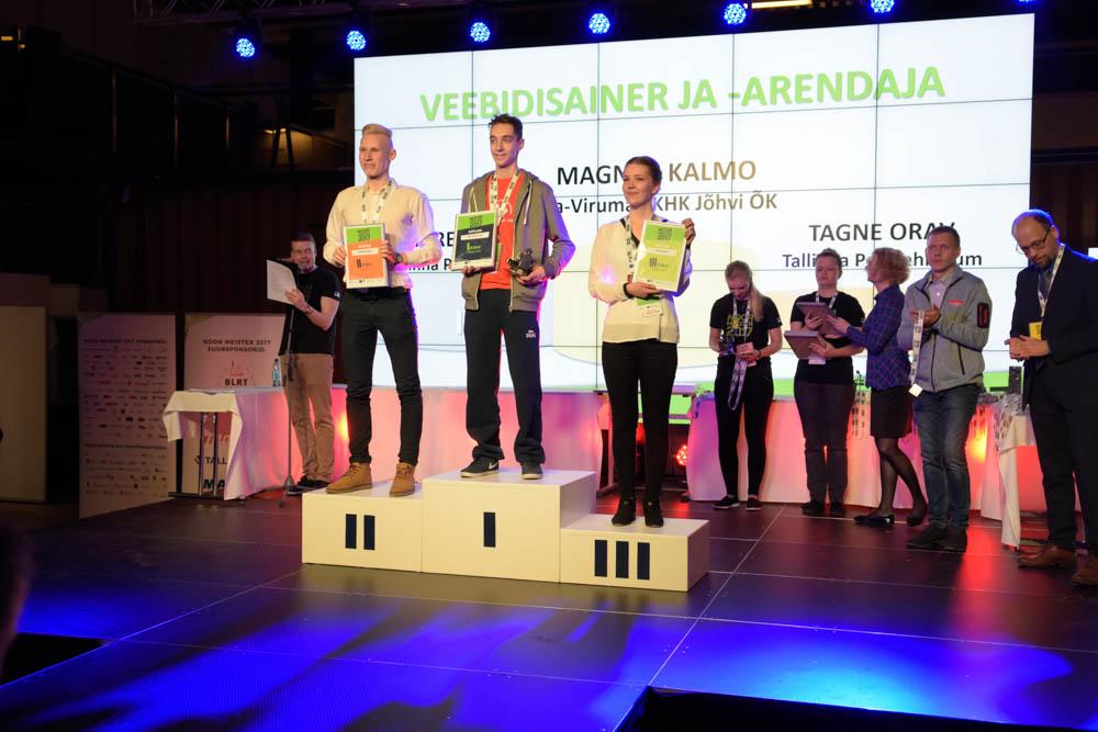 Ida-Virumaa Kutsehariduskeskuses õpib viis Eesti parimat noort meistrit