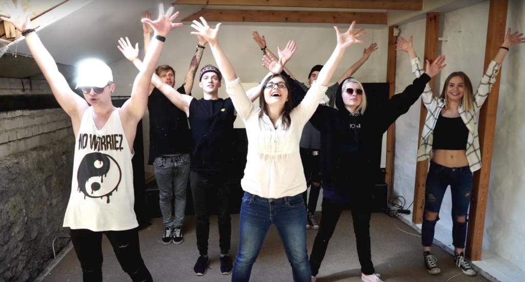 Eesti YouTuberid kutsuvad Eesti suurimale flash mob'ile