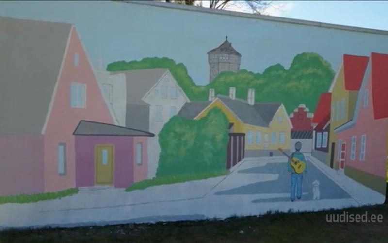 Video! Kaunistame EV 100. sünnipäevaks majad seinamaalingutega