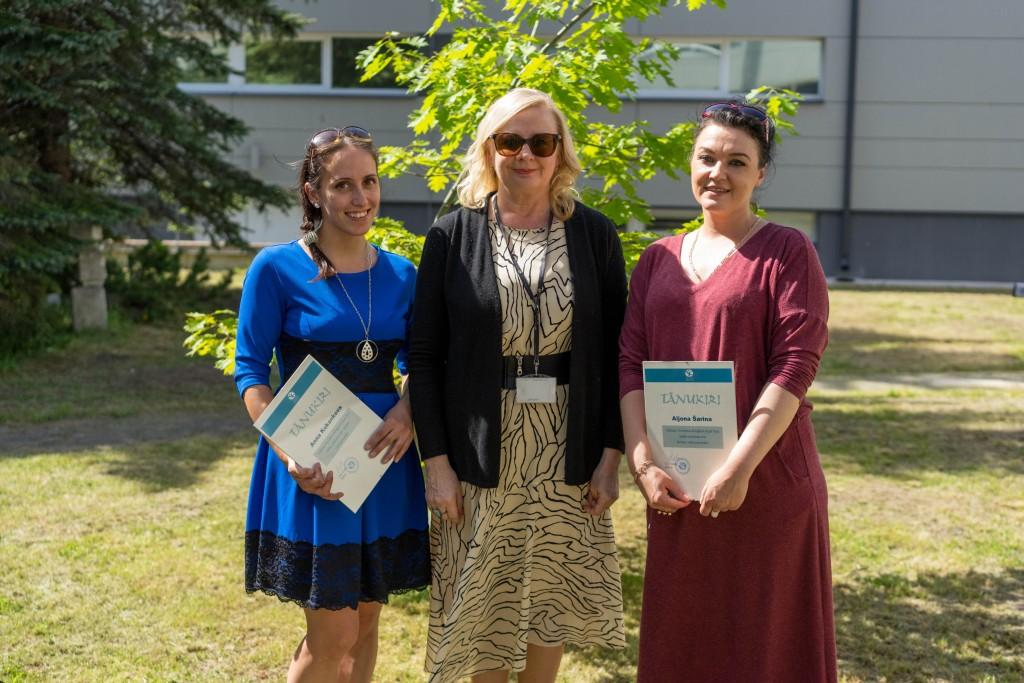 Tallinna Tervishoiu Kõrgkoolis tunnustati tublisid õppureid ja töötajaid