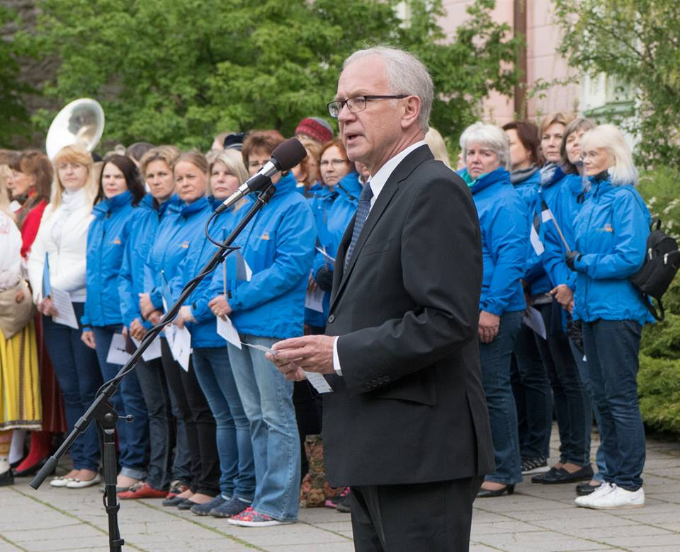 Riigikogu esimees Eiki Nestor: lipp on saatnud meid rõõmudes, aga olnud toeks ka rasketel hetkedel