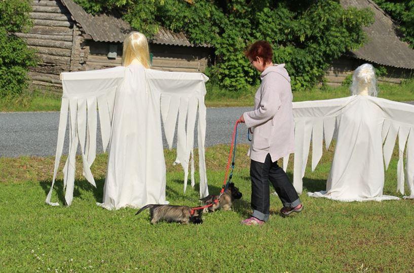 Ookatku külas avati teemapark prantsuse muinasjuttude tegelastest
