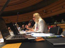 Majandus- ja taristuminister Kadri Simson TTE nõukogu istungil