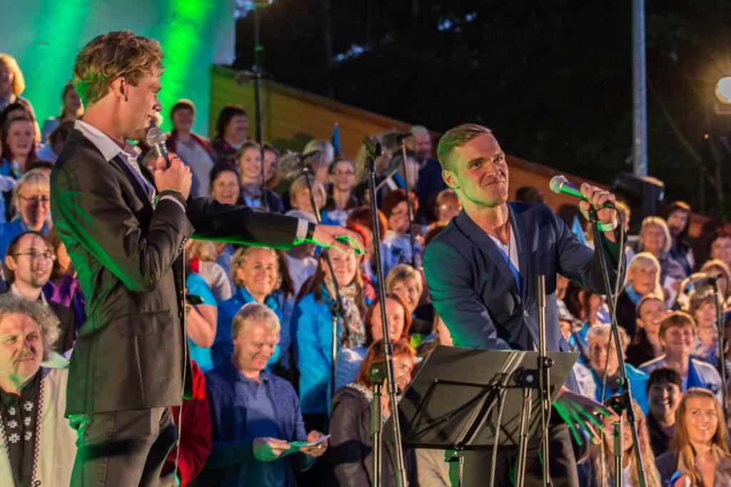 Pidu algab Eesti hümniga! Vaba Rahva Laul toimub sel aastal Põlvamaal