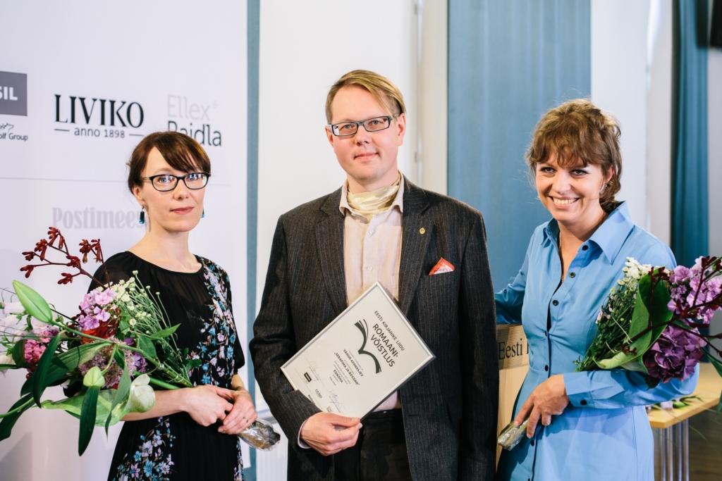 """Palju õnne! Eesti Kirjanike Liidu romaanivõistluse võitis Vahur Afanasjev käsikirjaga """"Serafima ja Bogdan"""""""