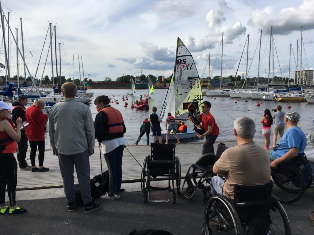 """GoodNews kiidab! Projekt """"Erilised purjetajad"""" viib erivajadustega inimesed homme merele"""