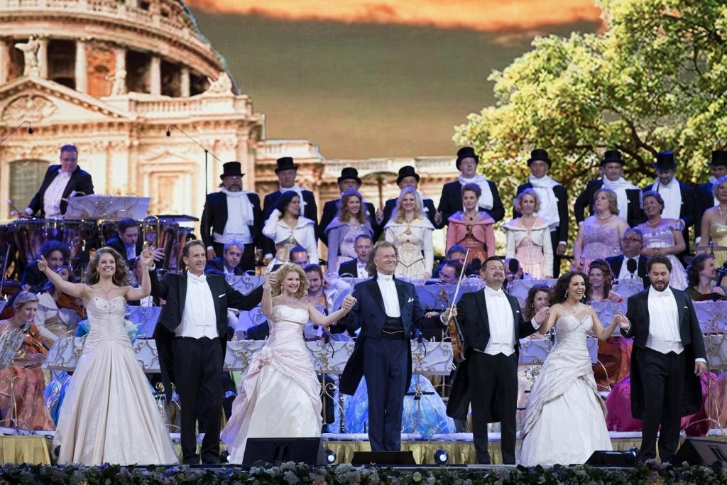 Valsikuninga André Rieu legendaarset kontserti näeb ka Eestis