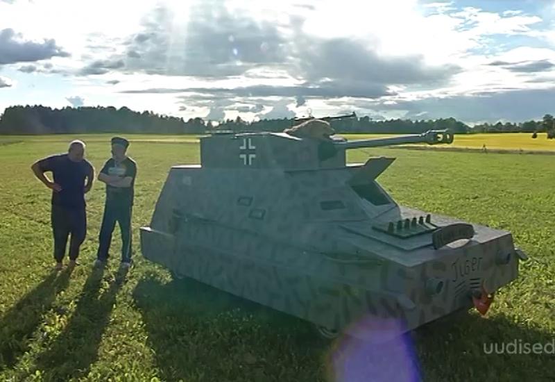 Video! Tubli Eesti mees ehitas igavuse peletamiseks endale tanki