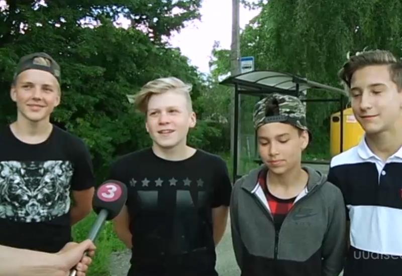 VIDEO! Tartu noored päästsid kokku kukkunud vanahärra elu
