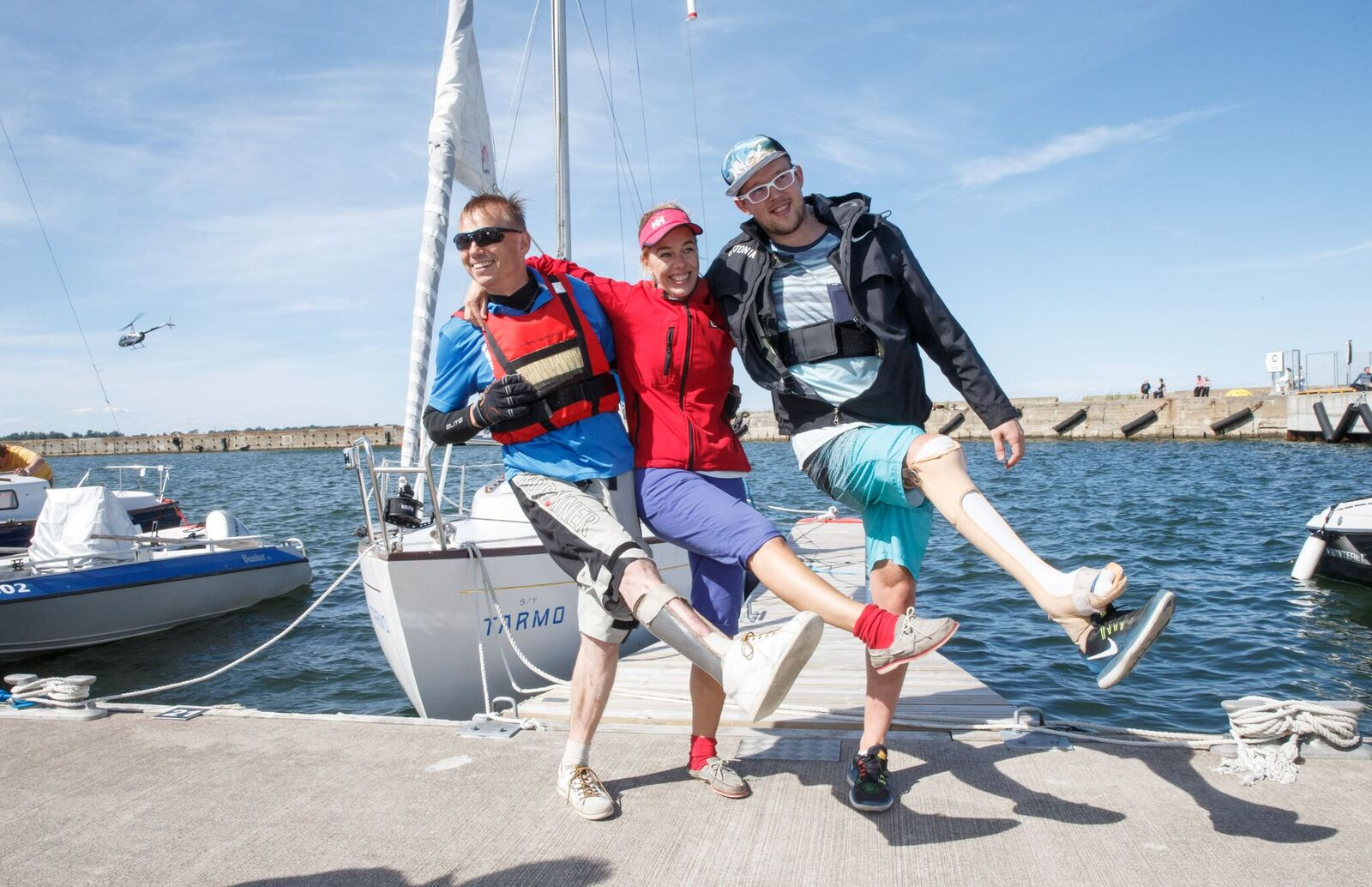 FOTOD! Merepäevade ajal said purjetada ka puuetega inimesed
