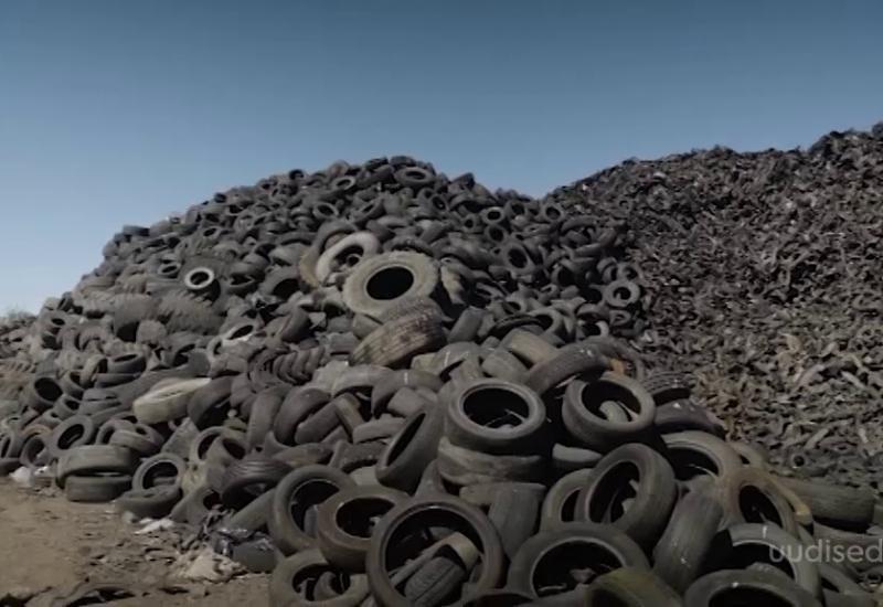 Video! Keskkonnasõbralik tegu: Eesti Energia tahab vanarehvidest õli toota