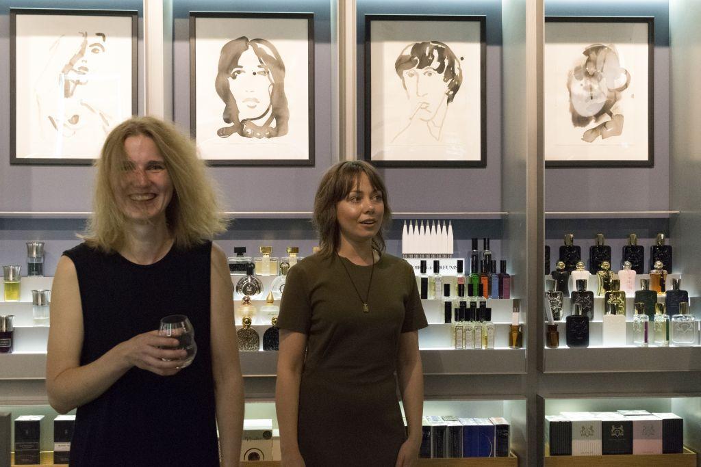 """Galerii! Viru Keskuses avati Helmi Arraku näitus """"Black Ink"""""""