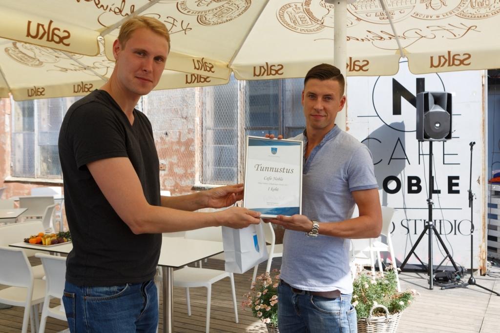 Põhja-Tallinna välikohvikute võistluse võitis Café Noble