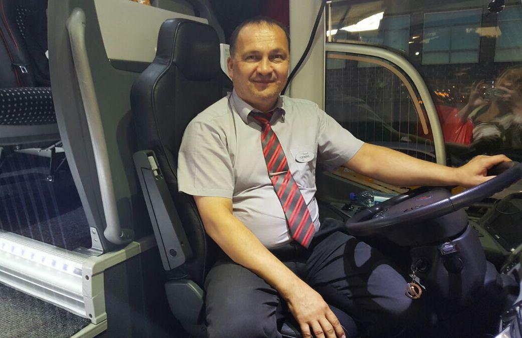 Kutseliste veoki- ja bussijuhtide võistluse võitis Lux Expressi bussijuht Toomas Raid