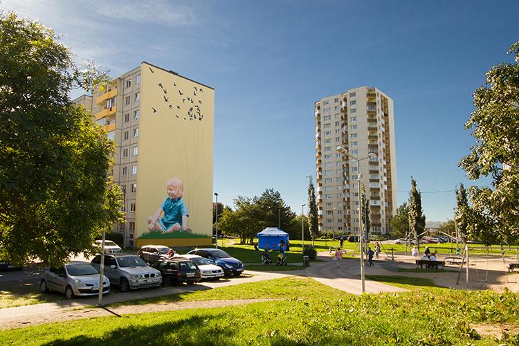 Kunst linnaruumi! Pealinnas jätkub supergraafiliste seinapiltide rajamine