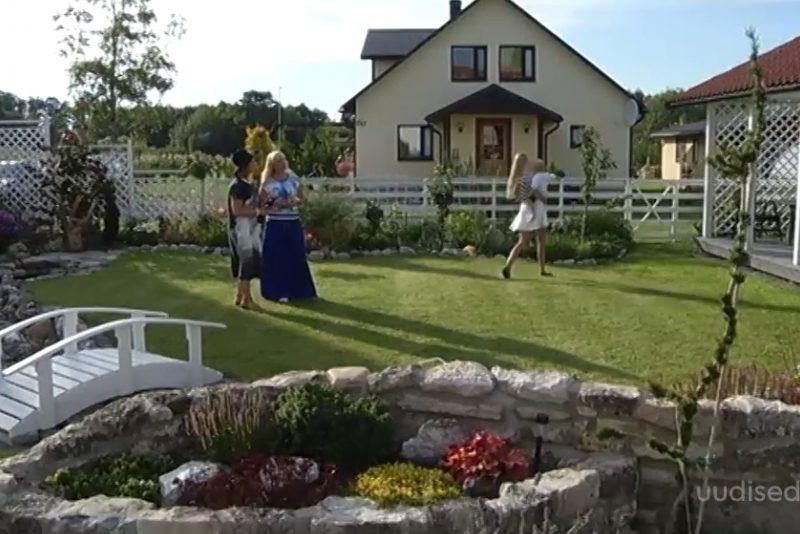 Video! Kiviktaimla ja ojaga kaunis aed valmis justkui üleöö