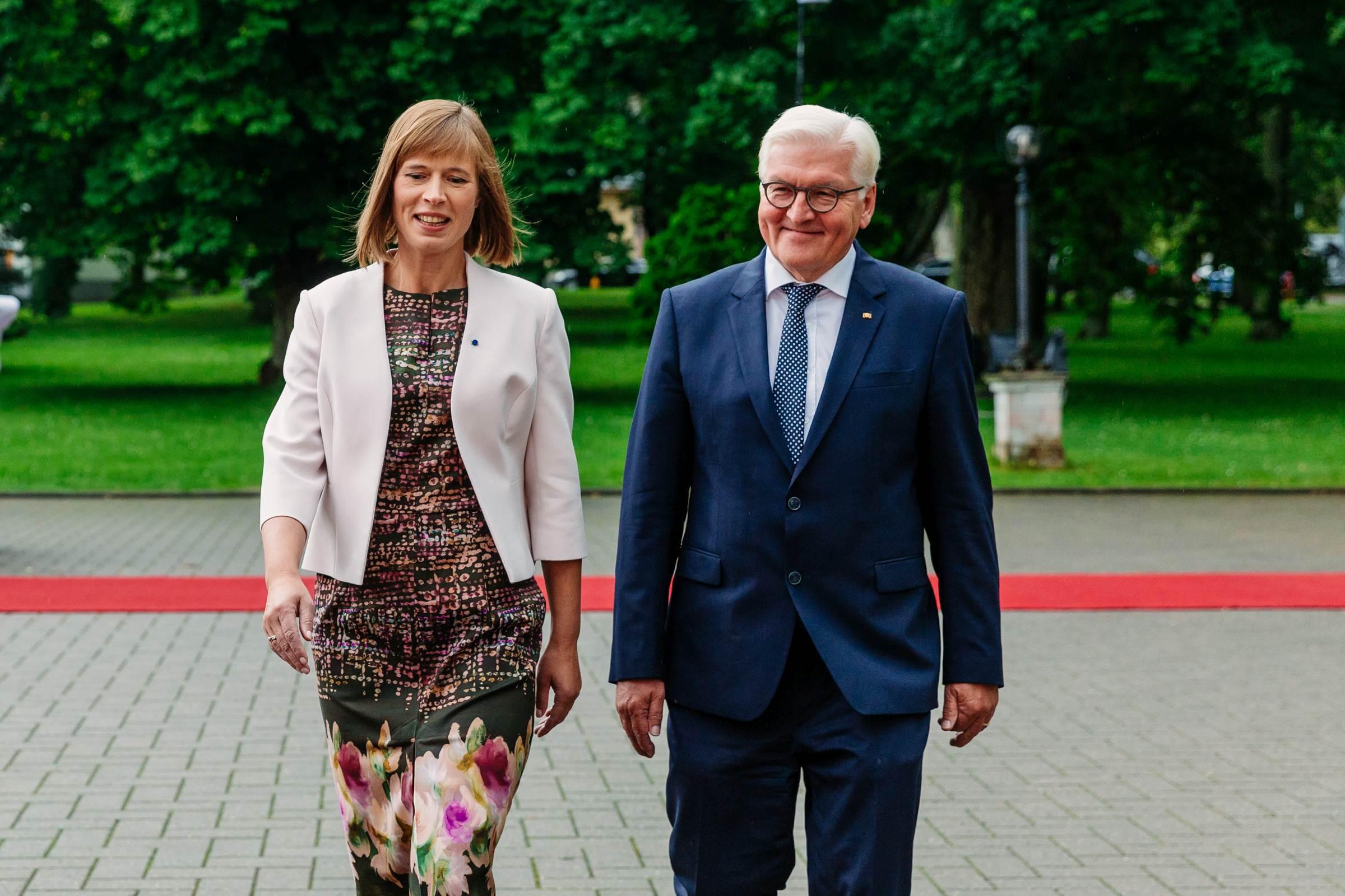 President Kersti Kaljulaid kohtus Saksamaa presidendiga